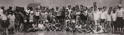 James Van Der Zee, 'XI: Swimming Team, Harlem', 1925