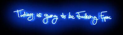 Lauren Baker, 'Fucking Epic (Electric Blue) - Neon', 2019