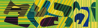 Wifredo Arcay, 'Maquette for mural', ca. 1950