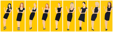 Alex Katz, 'Black Dress Portfolio', 2015