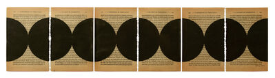 Oriane Stender, 'Untitled pages drawings (6 pages)', 2013