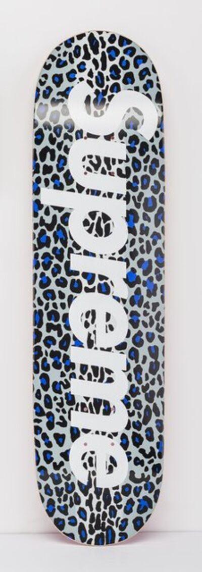 Supreme, 'Leopard Skatedeck (Purple)', 2009