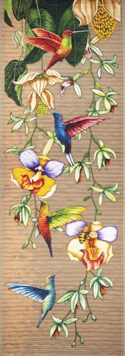 Gabriel Ortega, 'Tapestry Colibri', 2020
