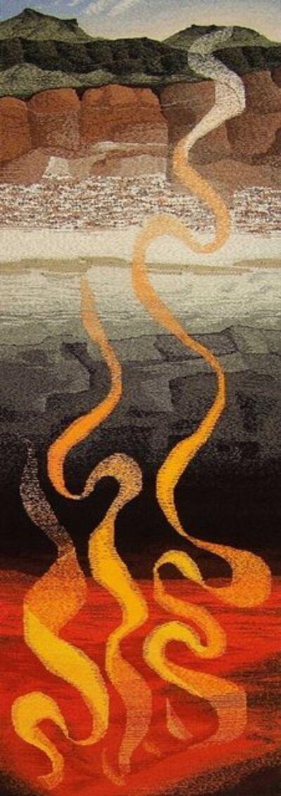 Elizabeth J. Buckley, 'MOLTEN BENEATH STRATA', 2019