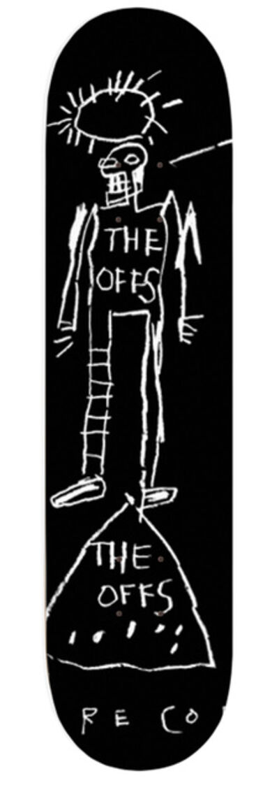 Jean-Michel Basquiat, 'The Offs Limited Edition Skate Deck by Jean-Michel Basquiat #1', 2019