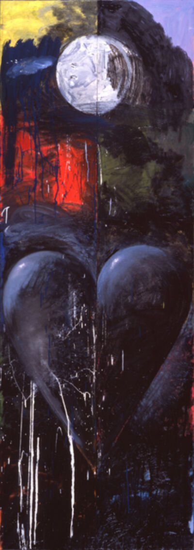 Jim Dine, 'Sleeping Alone/Apart from the Moon', 1993