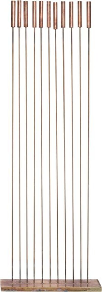 Val Bertoia, 'B-2131 (11 Cattails for Sounds)', 2017