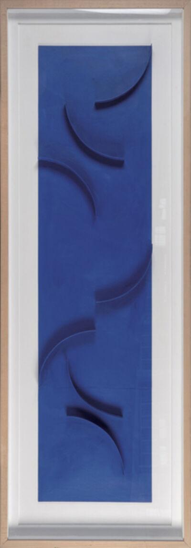 Gottfried Honegger, 'Relief bleu', 2001