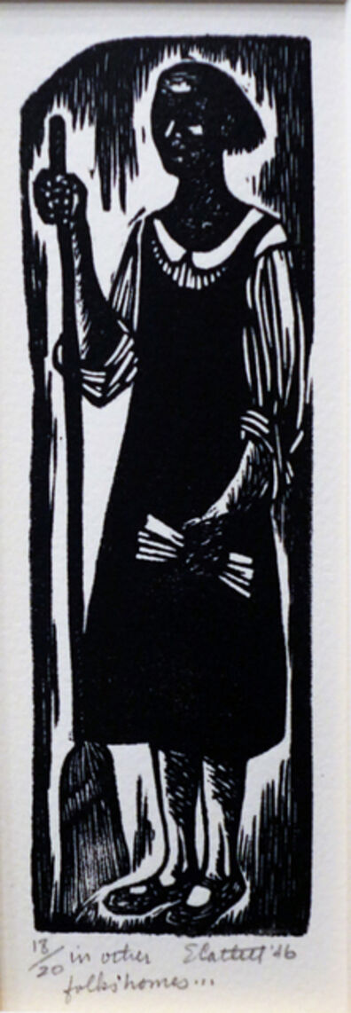 Elizabeth Catlett, 'In Other Folks' Homes', 1946