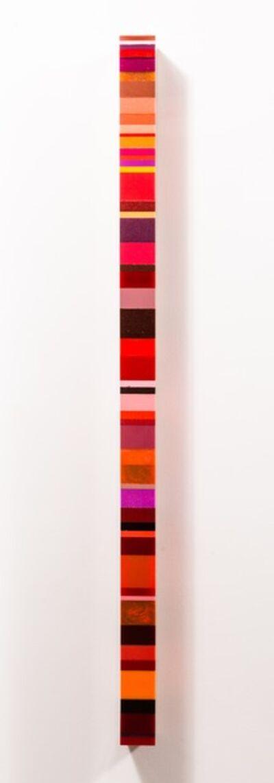 Harald Schmitz-Schmelzer, 'Farbsediment Rot', 2015