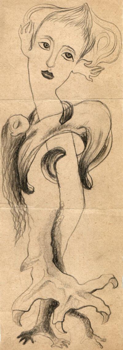 Hedda Sterne, 'Hedda Sterne with Theodore Brauner and Medi Wechsler Dinu, Cadavre exquis no 16', 1930-1932