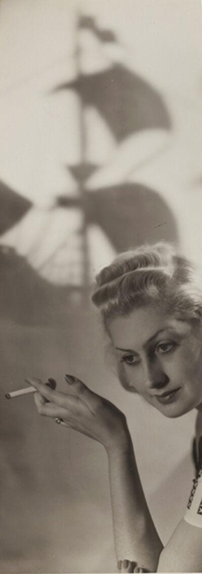 Laure Albin-Guillot, 'Cigarette Advertising', 1930s