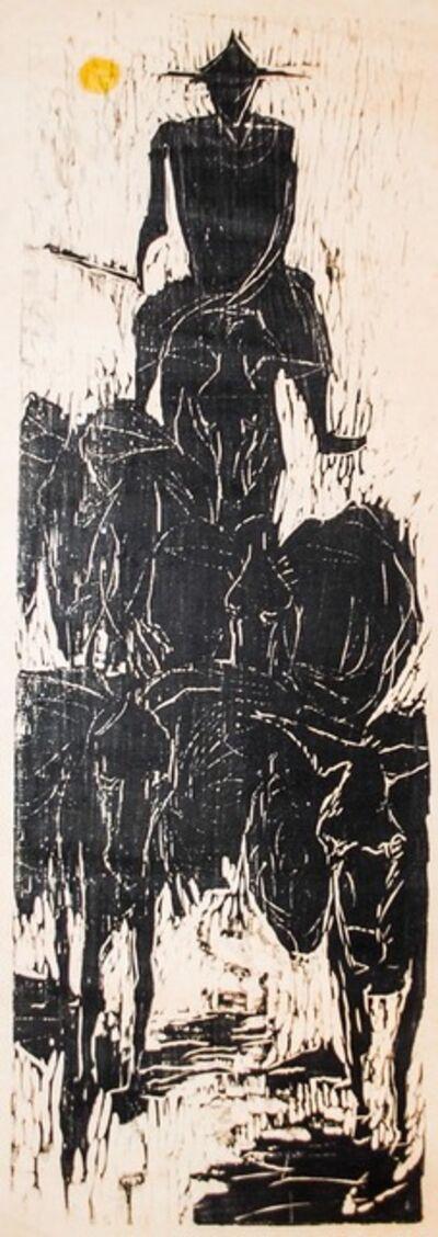 Jim Steg, 'Burro Driver', 1958