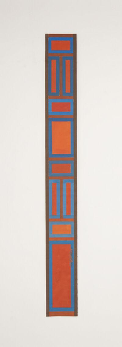 Chant Avedissian, 'B2 - Mamluk wooden door patterns, squares in red', 2016