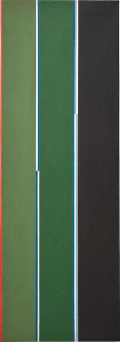 Lothar Charoux, 'Linhas sobre verde e preto'