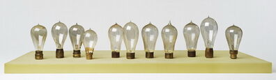 Catherine Wagner, 'Carbon Lamps, pre 1900', 2006