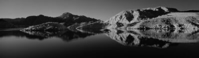 Cody S. Brothers, 'Black & White Panoramic Photography: 'Rufus Cove Reflection- Lake Mead National Recreation Area, Nevada'', 2018