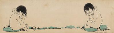 JESSIE WILLCOX SMITH, 'Water Babies, Two Children', 1910-1919