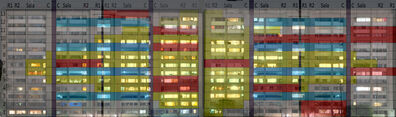Adam Wiseman, 'Tlatelolco hoja Excel', 2016