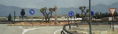 Simon Andrew, 'Mallorca Roundabout'