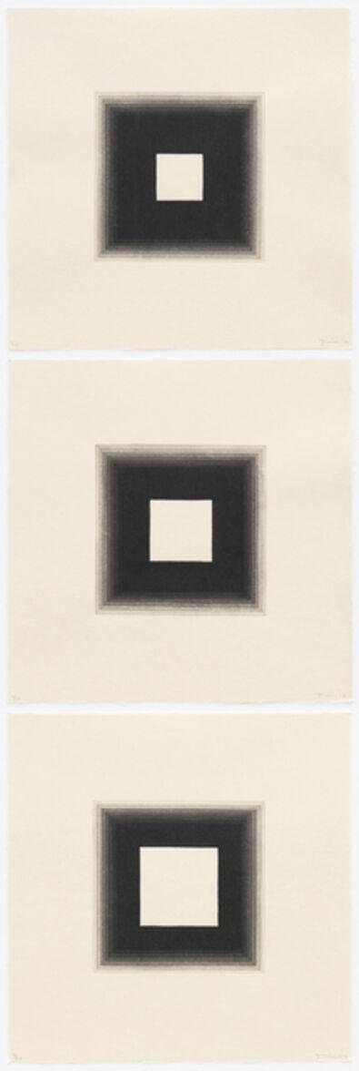 Yasu Shibata, '3 White Squares', 2014