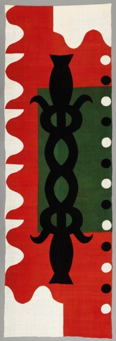 Samiro Yunoki, 'Étoffe teinte au pochoir ', 2005