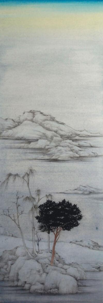 XU LEI 徐累, 'Ni Zan with Da Vinci', 2020