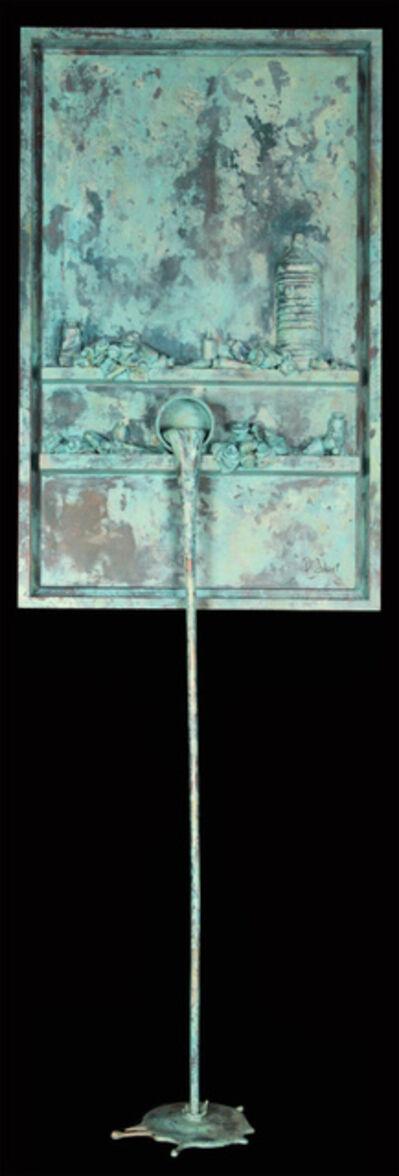 Paul Sibuet, 'Flow 106 - Marbre vert de gris (Green marble)'