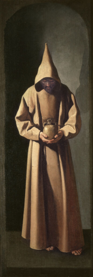 Francisco de Zurbarán, 'San Francisco de pie contemplando una calavera (Saint Francis Contemplating a Skull)', ca. 1633-1635