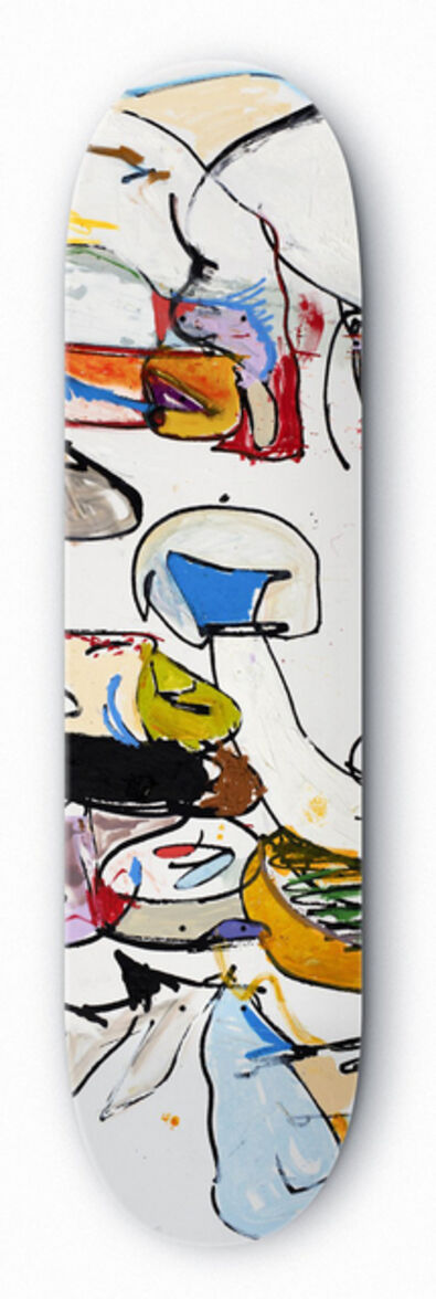 Eddie Martinez, 'Signed limited edition skateboard deck', 2016