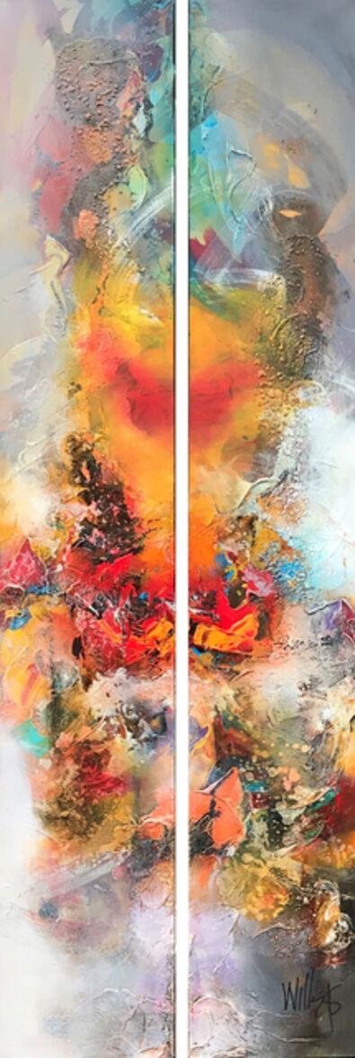 William Malucu, 'Colorscape I ( dyptich ) ', 2018