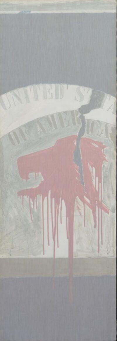 Franco Angeli, 'United States of America', 1965