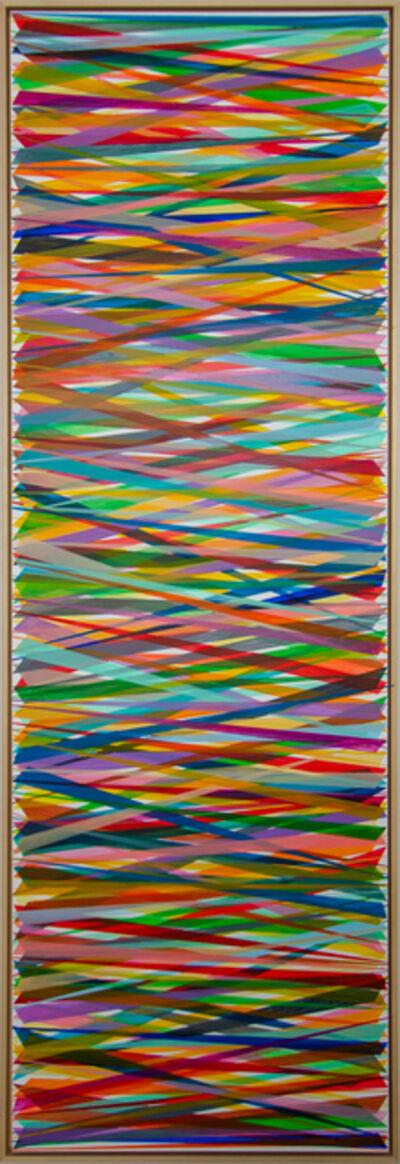 Beat Zoderer, 'Horizontales Zig-Zag No.10', 2019