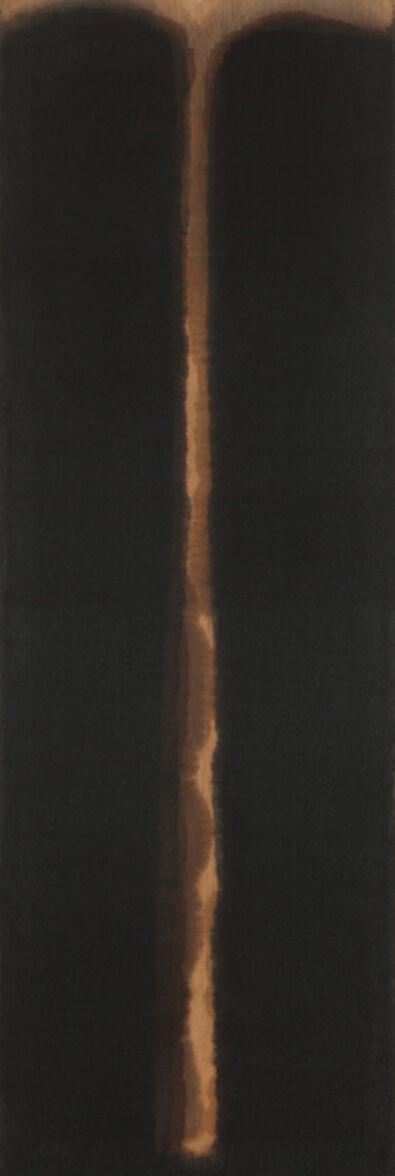 Yun Hyong-keun, 'Umber-Blue', 1977