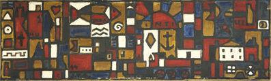 """Joaquín Torres-García, '""""Proyecto para el mural de St. Bois 1944""""', 1944"""