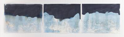 Meghann Riepenhoff, 'Littoral Drift #547 (Triptych, Atlanta, GA, 06.13.17, Confluence of Chattahoochee River and White Water Creek, Run Over by Dog)', 2017