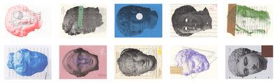 João Ferro Martins, 'Heads of... (polyptych)', 2014