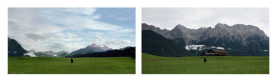 Barbara Probst, 'Exposure #92: Mittenwald, Buckelwiesenweg, 07.08.11, 7:28 p.m.', 2011
