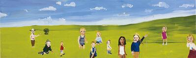 Chantal Joffe, 'Statues', 2000