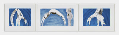 Louise Bourgeois, 'Triptych for the Red Room', 1994