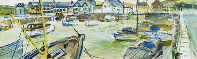 Fred Yates, 'West Bay Bridport'