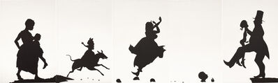 Kara Walker, 'A Means to An End... A Shadow Drama in Five Acts (L. P. p. 216, fig. 85)', 1995