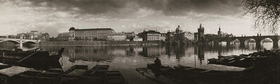 Josef Sudek, 'Prague, Charles Bridge and Rudolfinum, Panorama', 1959