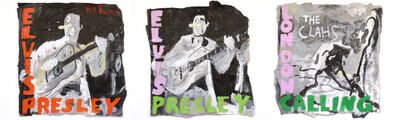 Luis Pérez Calvo, 'Elvis Presley & The Clash', 2017