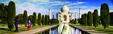 Norm Kerr, 'Colorama 239, Taj Mahal, Agra, India', may 24-2011