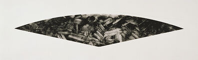 Ellsworth Kelly, 'Dark Gray Curve (State I) ', 1988