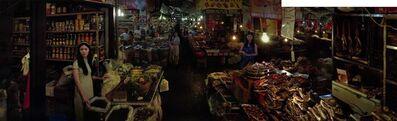 Chen Jiagang, 'Double Rhapsody - Yiwu - Farmer's Market 3'