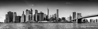 Andrew Prokos, 'Panoramic Skyline of Brooklyn Bridge and Lower Manhattan', 2016