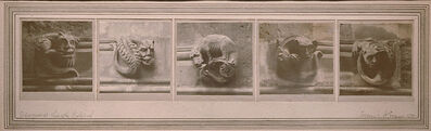 Frederick Henry Evans, 'Grotesques at Lincoln Cathedral [England]', 1891