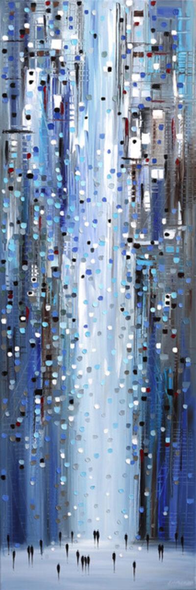 Ekaterina Ermilkina, 'Blue Lights', 2020